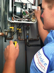 Bosch Tankless Water Heater Repair in San Fernando Valley home